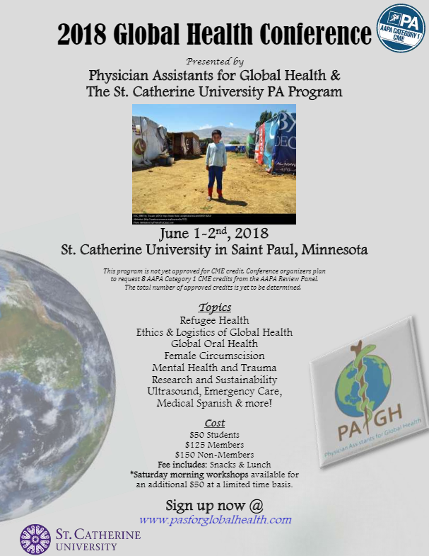 2018 Annual PAGH Global Health Conference